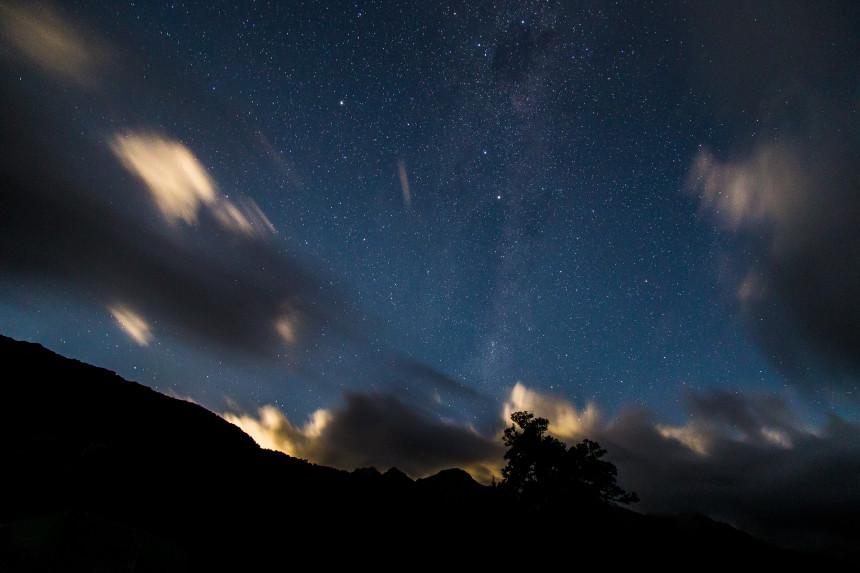 Fiordland Night Sky