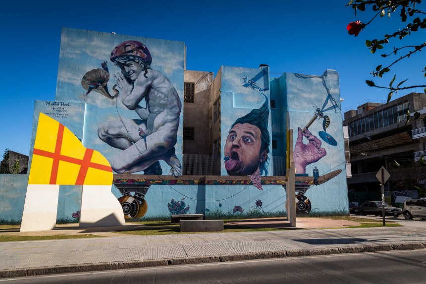 Mural by Martin Ron & Jiant Guiviro