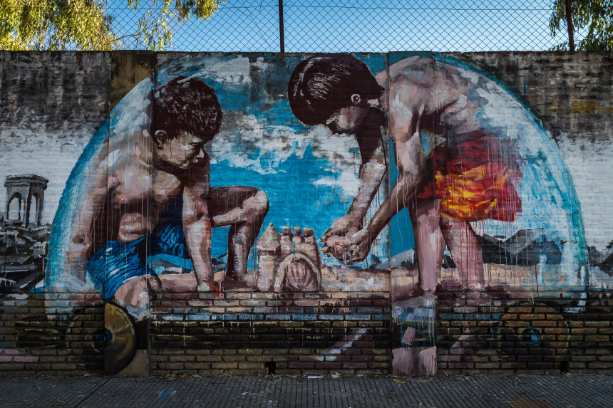 Mural by Fintan Magee