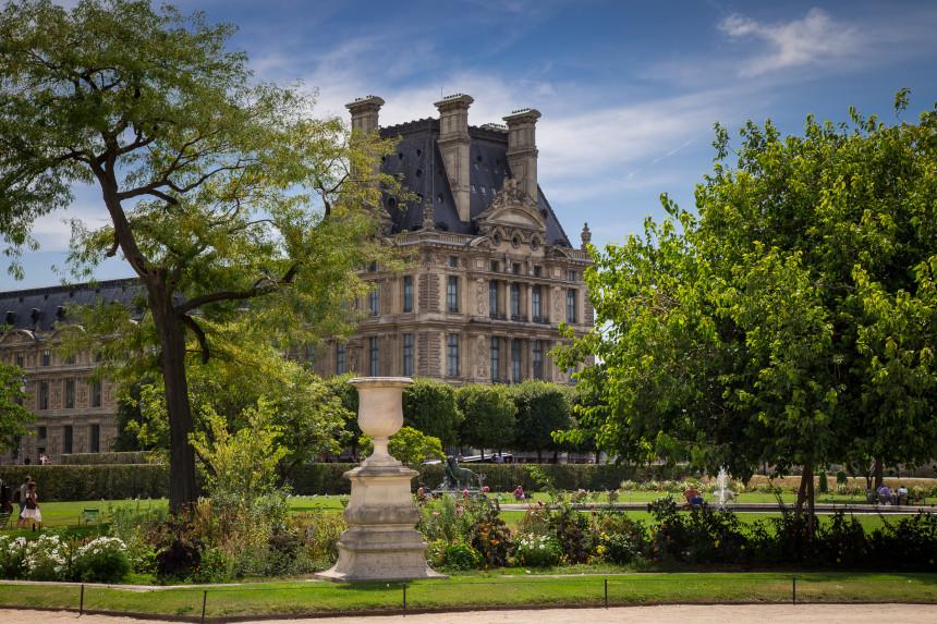 Tuileries Garden, Louvre