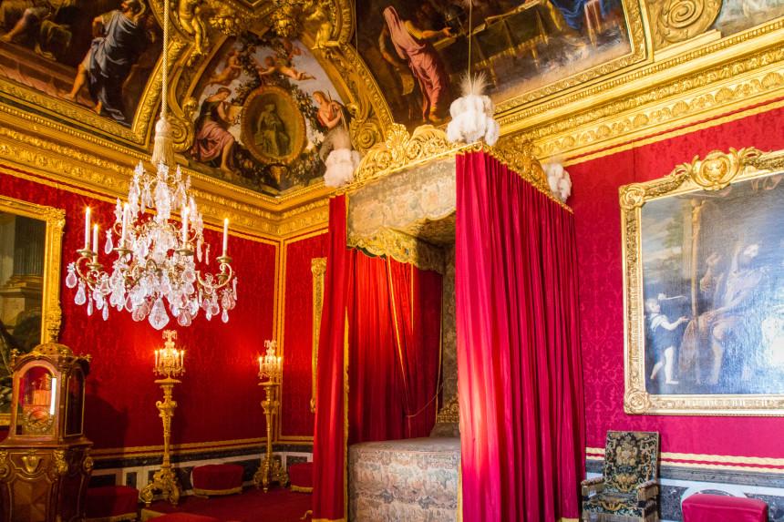 King Louis XIV's chamber