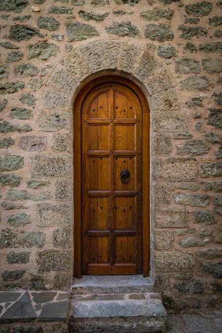 Door, St. Stephen's Monastery